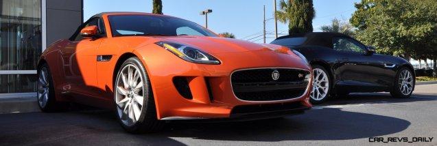 2014 Jaguar F-type S Cabrio - LED Lighting Demo and 60 High-Res Photos52