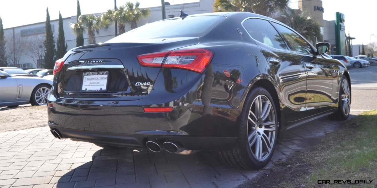 2014 Maserati Ghibli Looking, Sounding Marvelous -- 40+ All-New, High-Res Photos -- Available Now from $67k 7