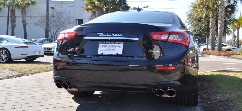 2014 Maserati Ghibli Looking, Sounding Marvelous -- 40+ All-New, High-Res Photos -- Available Now from $67k 8