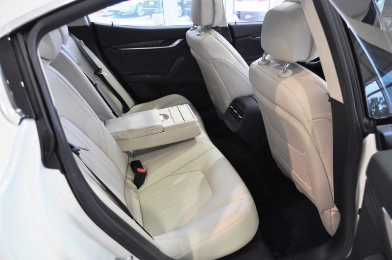 2014 Maserati Ghibli Q4 -- Interior Feels Luxe and High-Quality, But Back Seat A Bit Tight 4