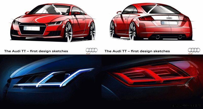 2015 Audi TT Sketches tile