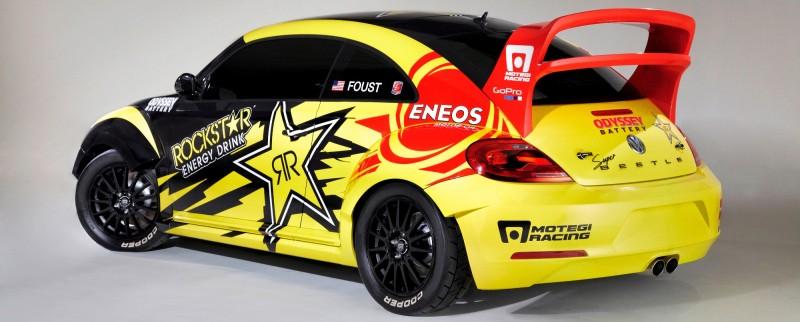 All-New FIA RallyCross Series Looks FUN! Dart, Sonic, Beetle, Fiesta, Fabia, Pug 208GTI and More On-Board 16