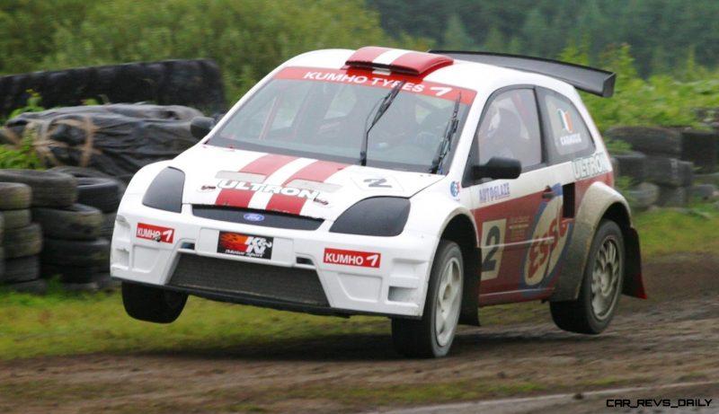 All-New FIA RallyCross Series Looks FUN! Dart, Sonic, Beetle, Fiesta, Fabia, Pug 208GTI and More On-Board 6