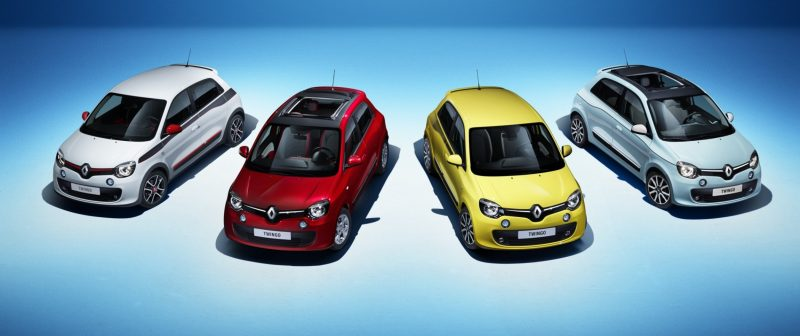 All-New Renault Twingo Packs Rear Engine, Four Doors and Cute New Style 1