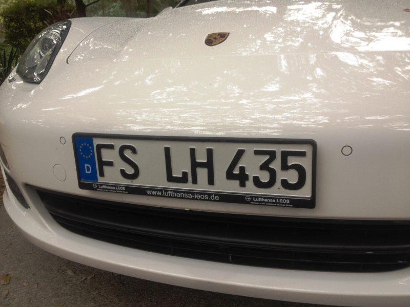 Car-Revs-Daily.com Recommends - Black Magic Tire Foam - Porsche Panamera S 31