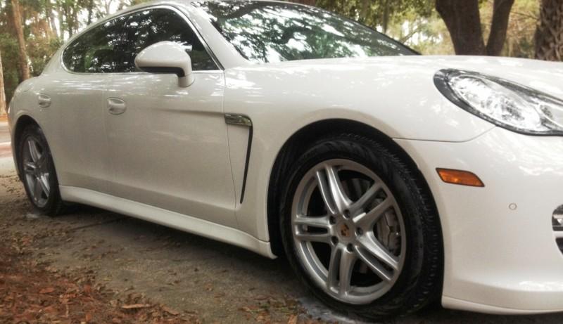 Car-Revs-Daily.com Recommends - Black Magic Tire Foam - Porsche Panamera S 38