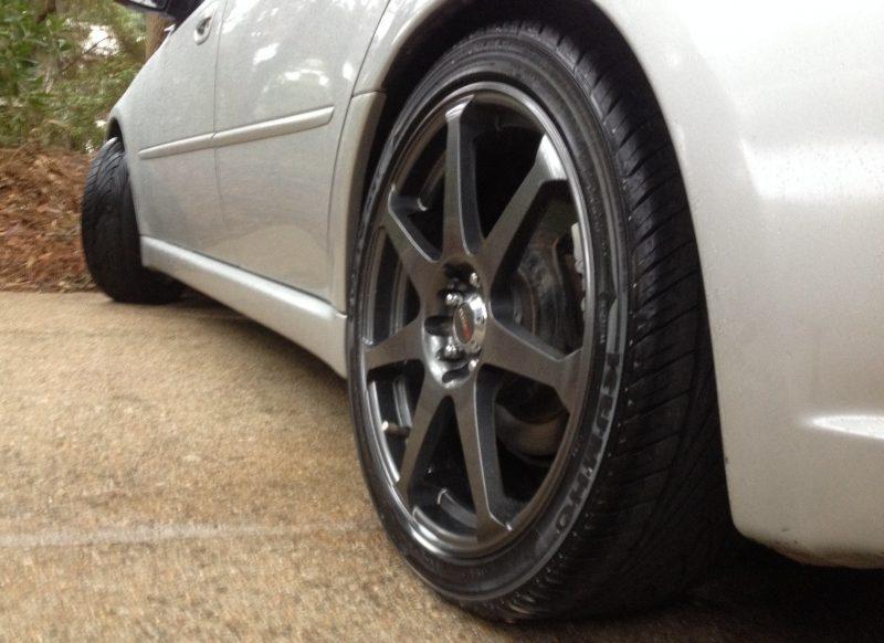 Car-Revs-Daily.com Recommends - Black Magic Tire Foam - Porsche Panamera S 42