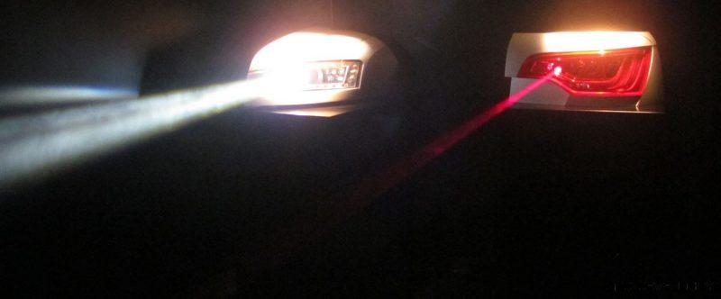 CarRevsDaily.com - Laser Lighting for 2014 AUDI R18 LeMans 27