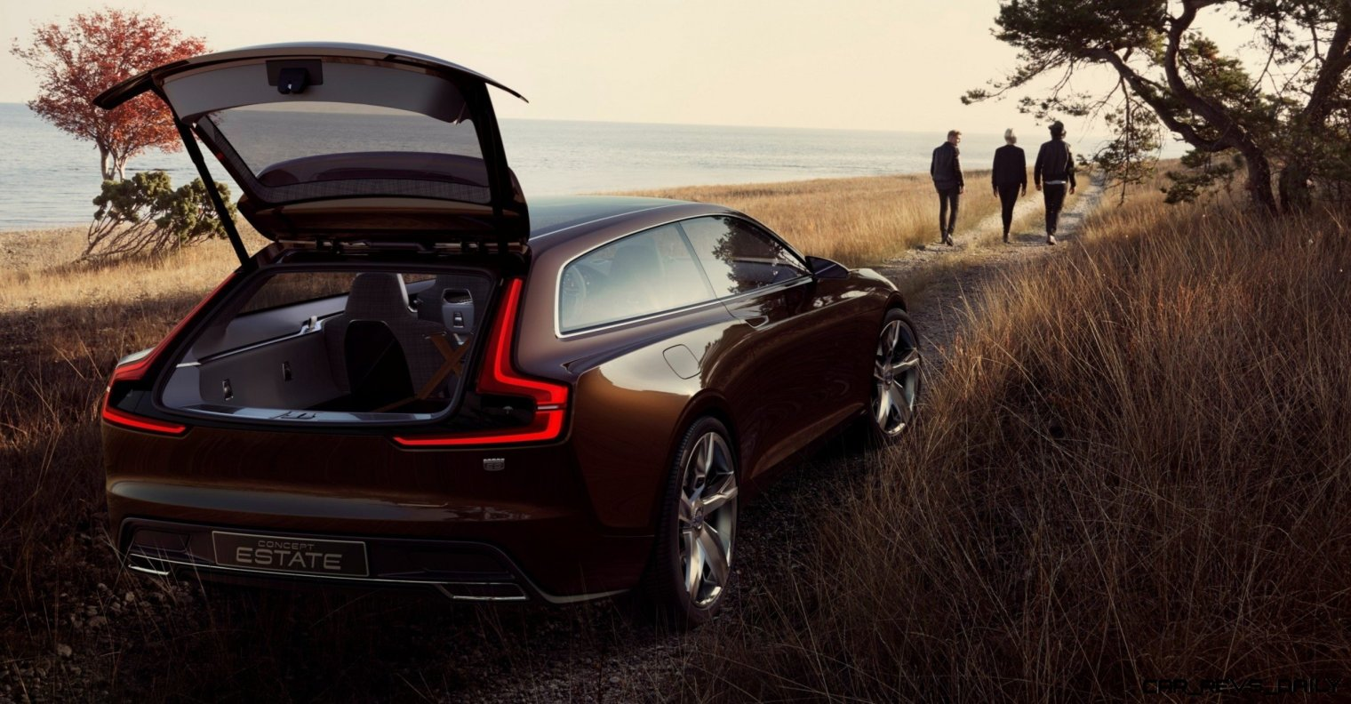 Concept Estate Confirms It! Volvo's New Design Lead Th. Ingenlath Should Be Sweden's Man of the Year 13