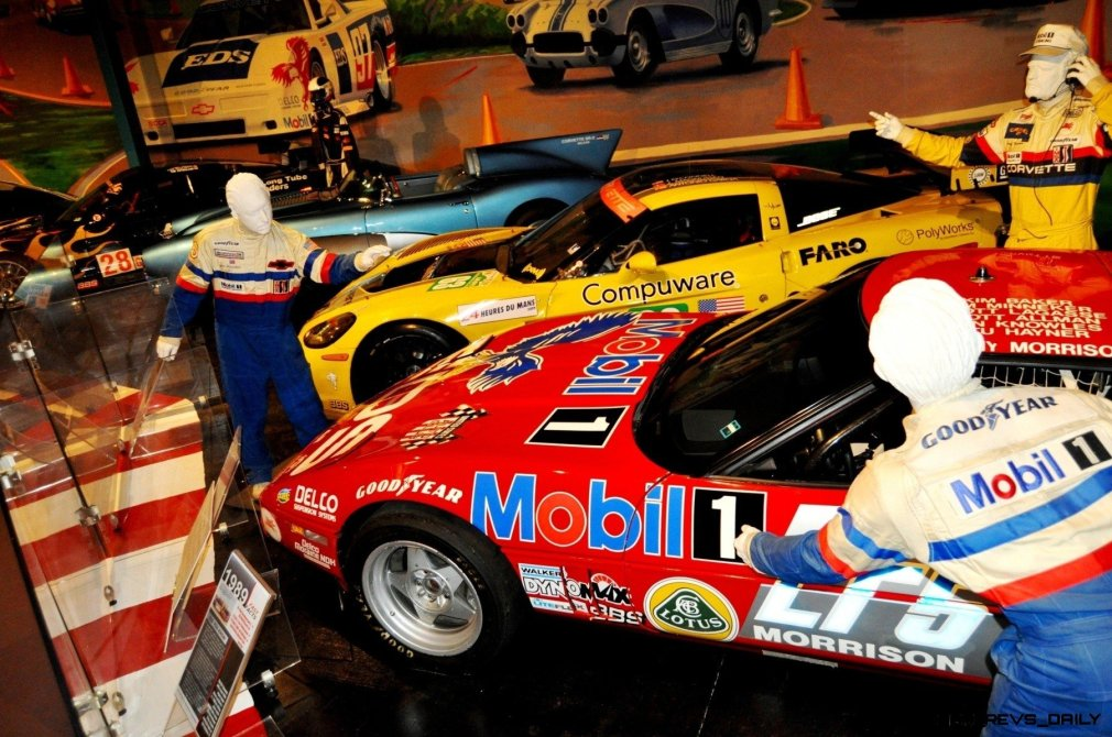 Corvette Museum -- The Racecars! 58 High-Res Photos -- Plus NCM Motorsports Park A High-Speed Dream 27