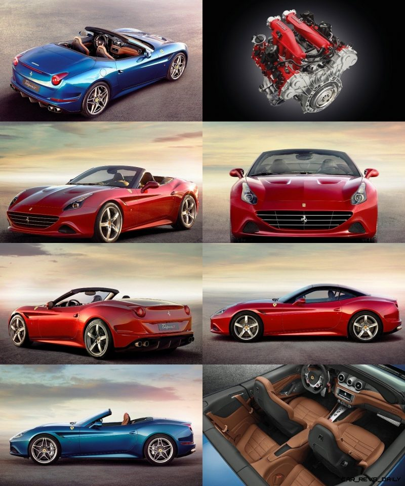 Ferrari Goes Turbo -- Geneva-bound California T Cabrio Packing 577Lb-Ft of Hissing Boost 12