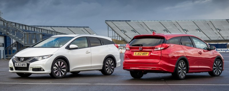UK Honda Civic Tourer Touts Inner Beauty -- But This Wagon Is Gorgeous vs. Clinically-Depressed U.S. Civic 26