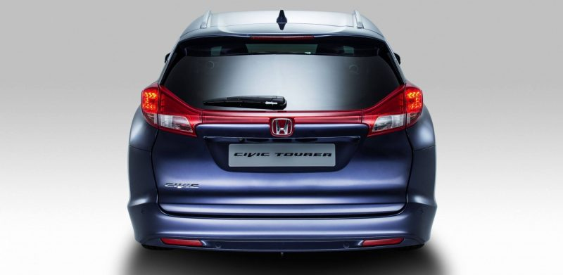 UK Honda Civic Tourer Touts Inner Beauty -- But This Wagon Is Gorgeous vs. Clinically-Depressed U.S. Civic 7
