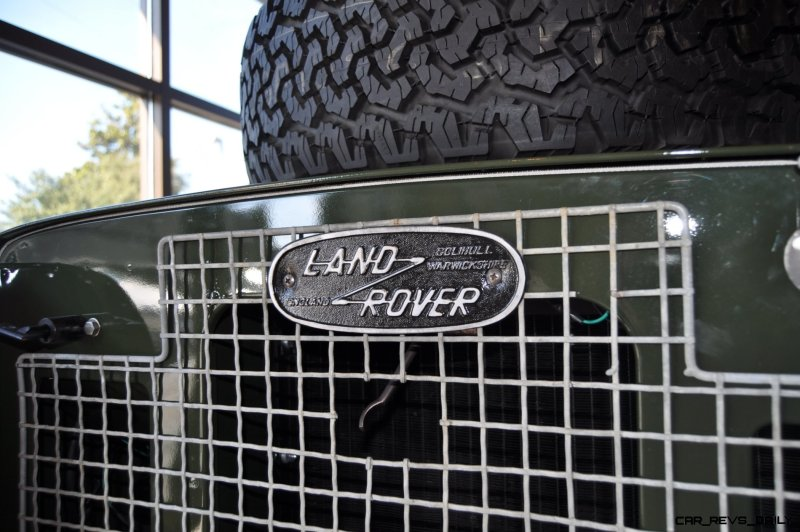 Video Walk-around and Photos - Near-Mint 1969 Land Rover Series II Defender at Baker LR in CHarleston 13