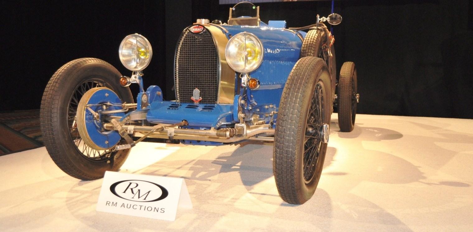 1928 Bugatti Type 37A Grand Prix Supercharged-- $962,000 at RM Auctions Amelia 2014 -- 45 Original Photos 5