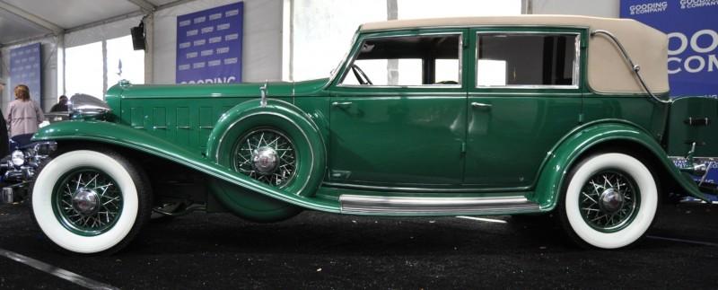 1932 Cadillac V-16 452B Madame X Imperial Sedan -- Gooding & Co. Amelia Island 2014 -- Sold for $264k 11