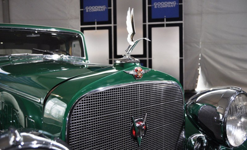 1932 Cadillac V-16 452B Madame X Imperial Sedan -- Gooding & Co. Amelia Island 2014 -- Sold for $264k 2