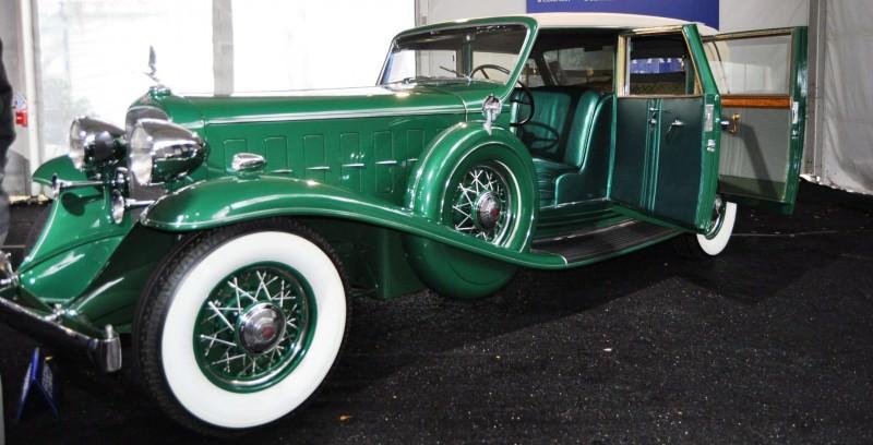 1932 Cadillac V-16 452B Madame X Imperial Sedan -- Gooding & Co. Amelia Island 2014 -- Sold for $264k 23