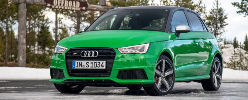 2014 AUDIU S1 and S1 Sportback in Delightful Bold Colors 11