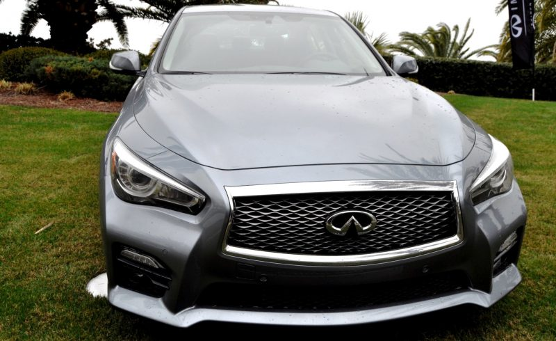 2014 INFINITI Q50S AWD Hybrid -- 1080p HD Road Test Videos & 50 Photos -- AAA+ Refinement and Truly Authentic Steering -- An Excellent BMW 535i Competitor 20