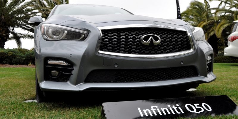 2014 INFINITI Q50S AWD Hybrid -- 1080p HD Road Test Videos & 50 Photos -- AAA+ Refinement and Truly Authentic Steering -- An Excellent BMW 535i Competitor 21