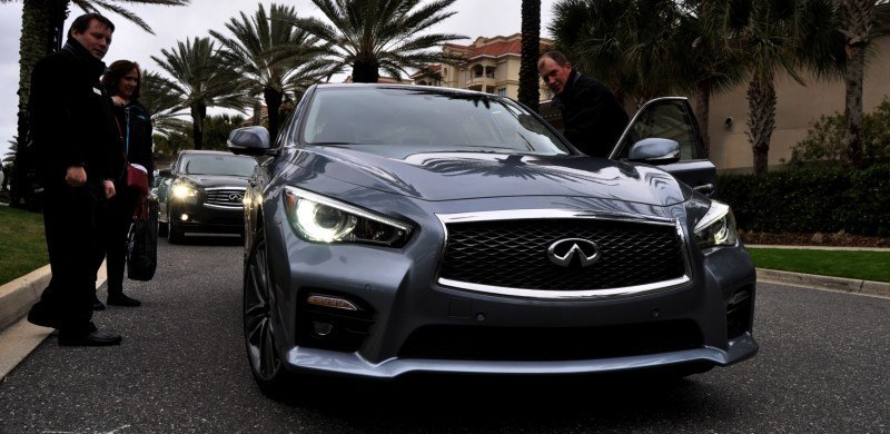 2014 INFINITI Q50S AWD Hybrid -- 1080p HD Road Test Videos & 50 Photos -- AAA+ Refinement and Truly Authentic Steering -- An Excellent BMW 535i Competitor 33