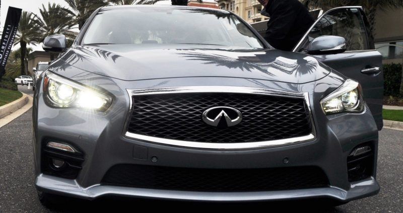2014 INFINITI Q50S AWD Hybrid -- 1080p HD Road Test Videos & 50 Photos -- AAA+ Refinement and Truly Authentic Steering -- An Excellent BMW 535i Competitor 34