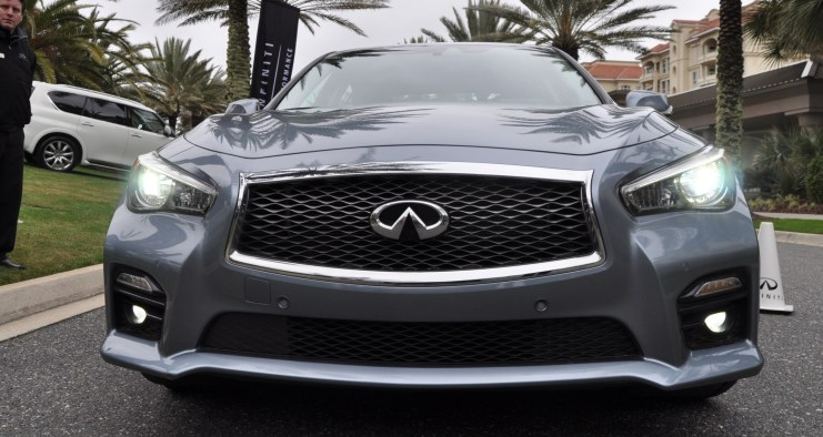 2014 INFINITI Q50S AWD Hybrid -- 1080p HD Road Test Videos & 50 Photos -- AAA+ Refinement and Truly Authentic Steering -- An Excellent BMW 535i Competitor 41