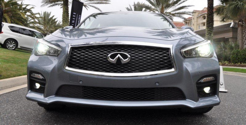 2014 INFINITI Q50S AWD Hybrid -- 1080p HD Road Test Videos & 50 Photos -- AAA+ Refinement and Truly Authentic Steering -- An Excellent BMW 535i Competitor 42
