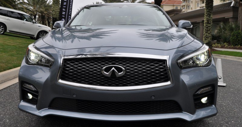 2014 INFINITI Q50S AWD Hybrid -- 1080p HD Road Test Videos & 50 Photos -- AAA+ Refinement and Truly Authentic Steering -- An Excellent BMW 535i Competitor 43