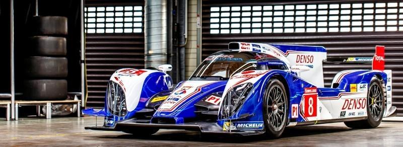 2014 LeMans LMP1 -- Toyota TS040 Hybrid -- A Dark Stallion in Audi vs. Porsche Battle -- Plus TS010 and TS020 Reunion 20