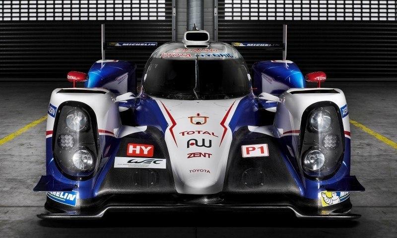 2014 LeMans LMP1 -- Toyota TS040 Hybrid -- A Dark Stallion in Audi vs. Porsche Battle -- Plus TS010 and TS020 Reunion 36