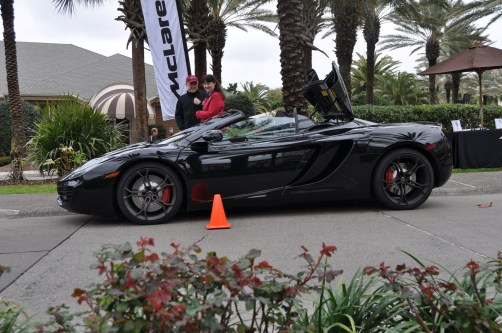 2014 McLaren 12C Spider Is Mobbed in Amelia Island! Failed Drop-top Animations 12