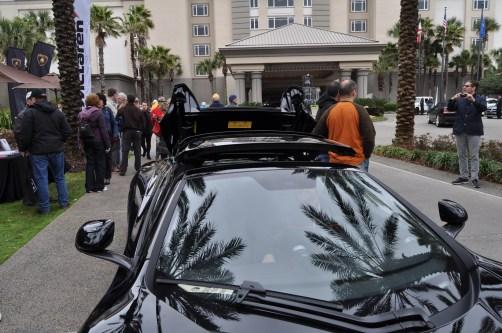2014 McLaren 12C Spider Is Mobbed in Amelia Island! Failed Drop-top Animations 29