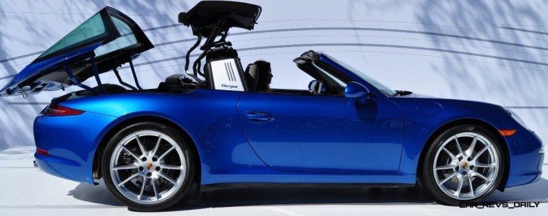 2014 Porsche 911 Targa4 -- Animated Roof Sequence + 30 High-Res Photos 21
