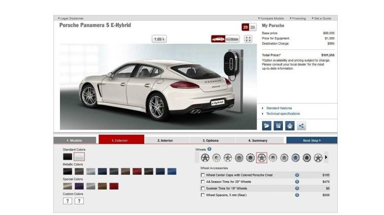 2014 Porsche Panamera S E-Hybrid -- 30 Real-Life Photos -- Live Configurator Link + 80 Images of Options, All Colors and All Wheels 10