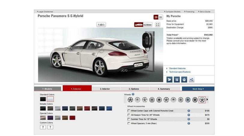 2014 Porsche Panamera S E-Hybrid -- 30 Real-Life Photos -- Live Configurator Link + 80 Images of Options, All Colors and All Wheels 15