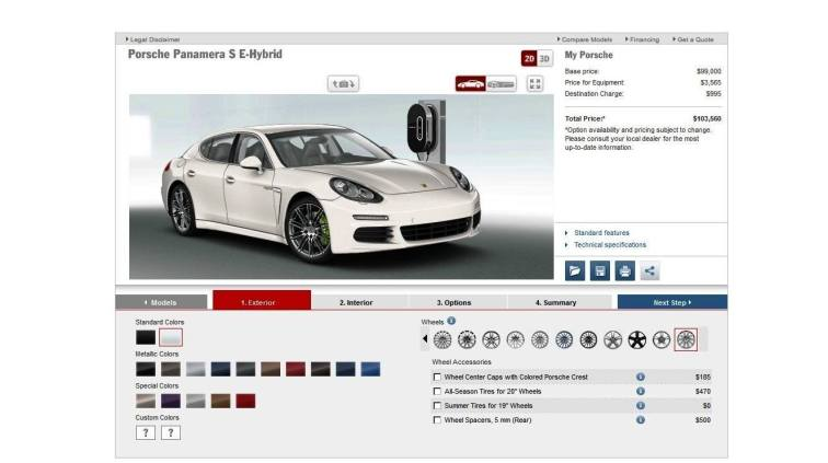 2014 Porsche Panamera S E-Hybrid -- 30 Real-Life Photos -- Live Configurator Link + 80 Images of Options, All Colors and All Wheels 19