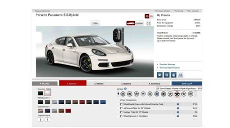 2014 Porsche Panamera S E-Hybrid -- 30 Real-Life Photos -- Live Configurator Link + 80 Images of Options, All Colors and All Wheels 20
