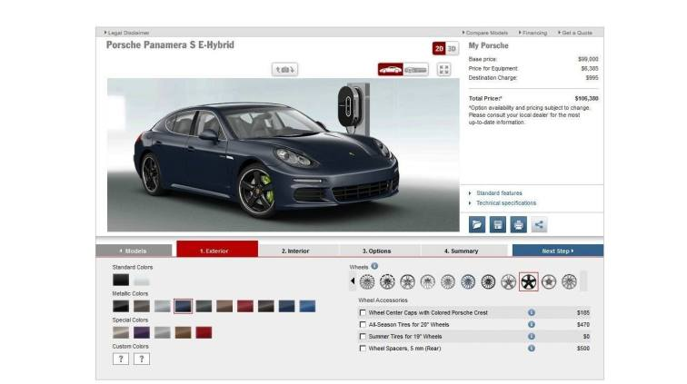 2014 Porsche Panamera S E-Hybrid -- 30 Real-Life Photos -- Live Configurator Link + 80 Images of Options, All Colors and All Wheels 24