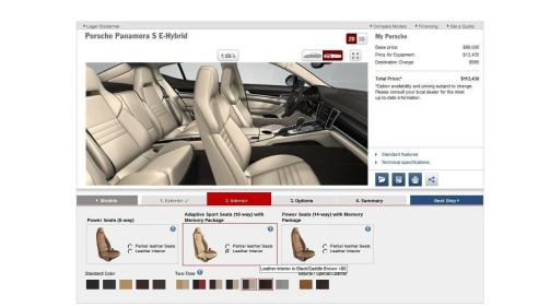 2014 Porsche Panamera S E-Hybrid -- 30 Real-Life Photos -- Live Configurator Link + 80 Images of Options, All Colors and All Wheels 49