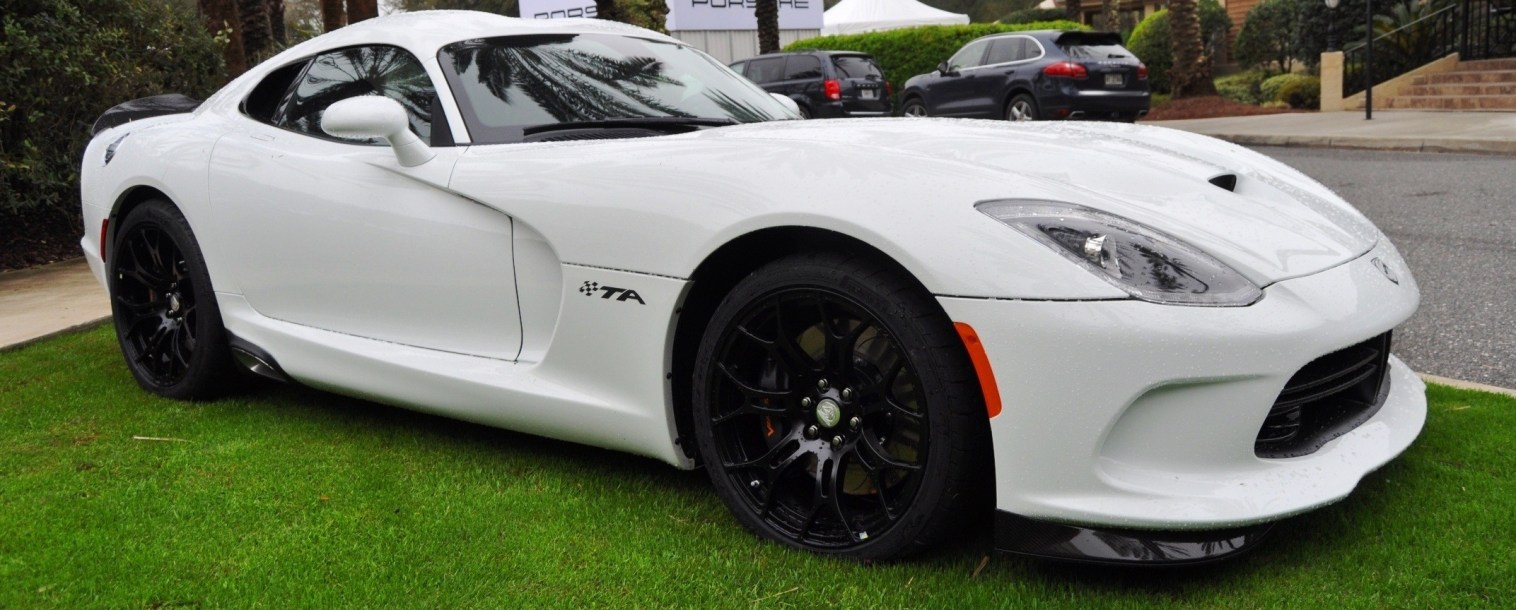 2014 SRT Viper TA in 25 All-New, Real-Life Photos with Carbon Aero Styling Options 20