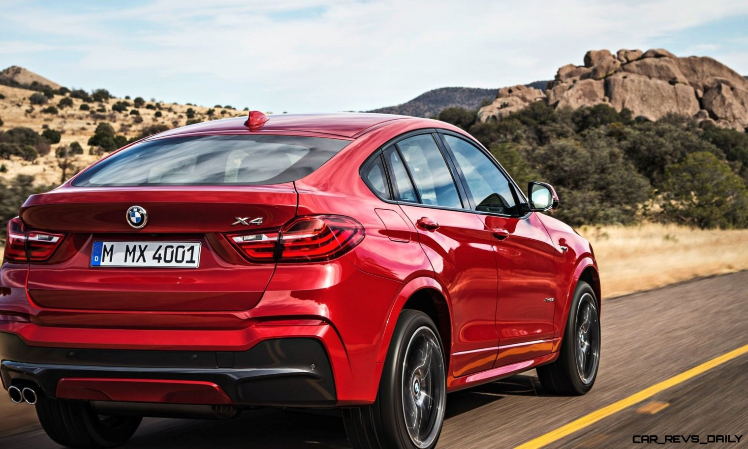 2015 BMW X4 is Here and Stunning!  Official Details and 55 Photos -- Pricing from $46,000 and Fall 2014 Arrival Expected 42