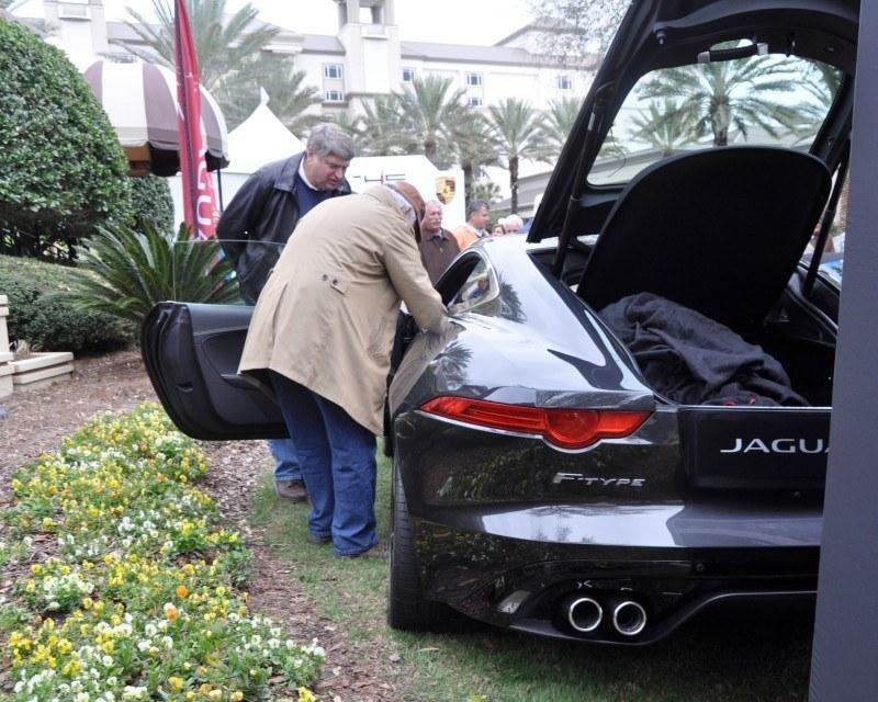 2015 JAGUAR F-TYPE R Coupe -- Lifts Its Bonnet to Show 550HP 5.0-liter V8 4