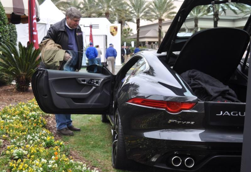 2015 JAGUAR F-TYPE R Coupe -- Lifts Its Bonnet to Show 550HP 5