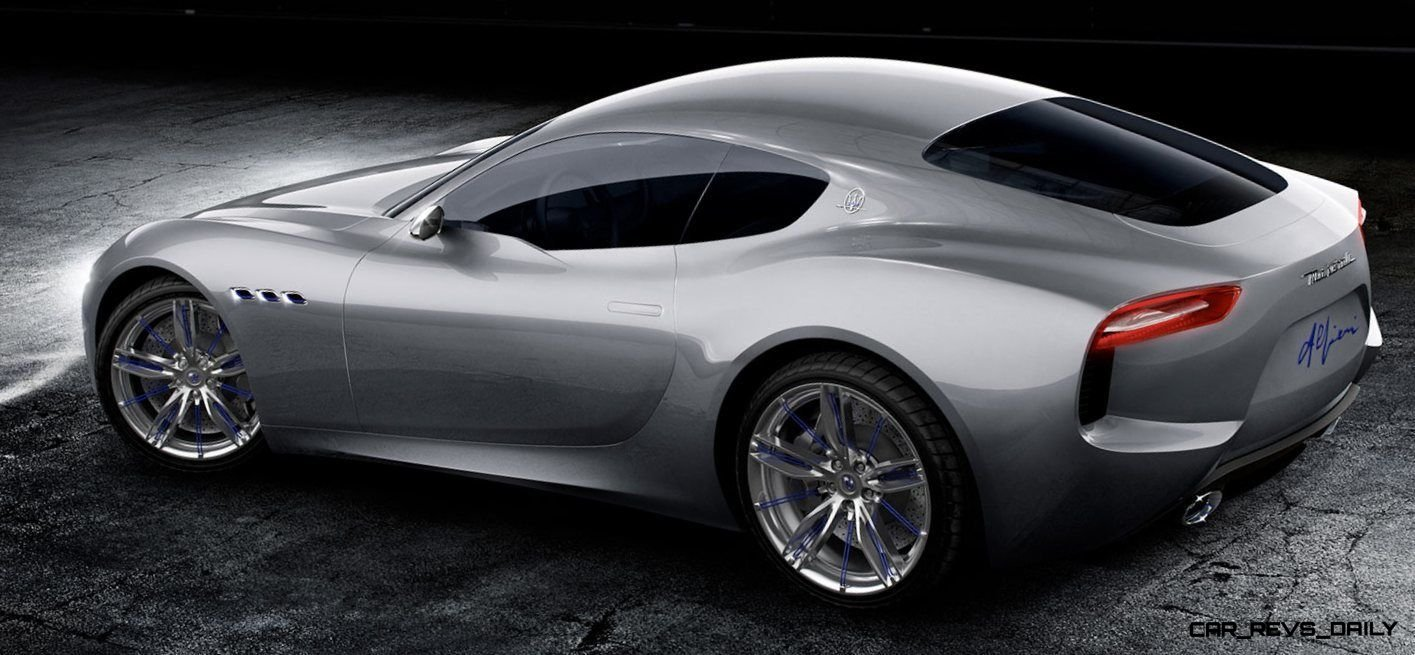 Alfieri Maserati Concept -- Analytical Assessment of the Trident's Flagship Prototype -- 52 Photos, Sketches, Reveal Images 17