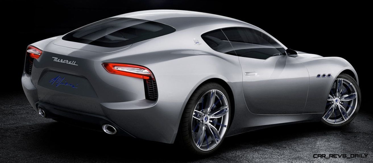 Alfieri Maserati Concept -- Analytical Assessment of the Trident's Flagship Prototype -- 52 Photos, Sketches, Reveal Images 20