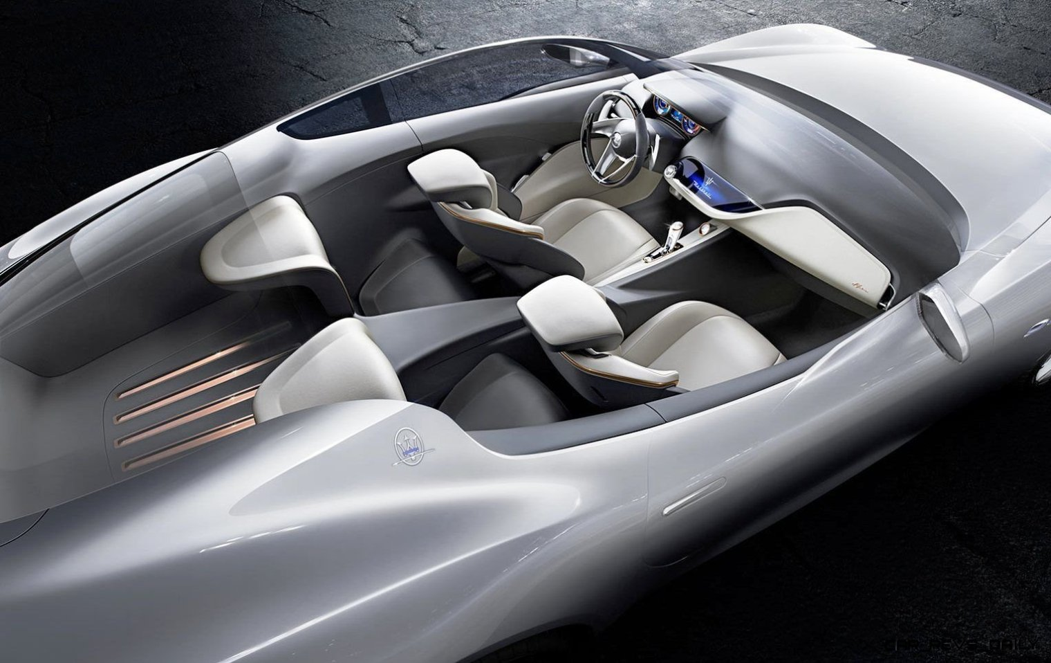 Alfieri Maserati Concept -- Analytical Assessment of the Trident's Flagship Prototype -- 52 Photos, Sketches, Reveal Images 24