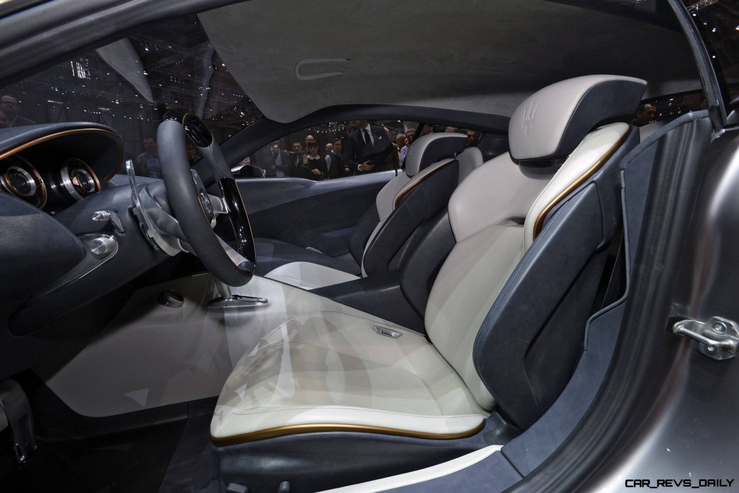 Alfieri Maserati Concept -- Analytical Assessment of the Trident's Flagship Prototype -- 52 Photos, Sketches, Reveal Images 4