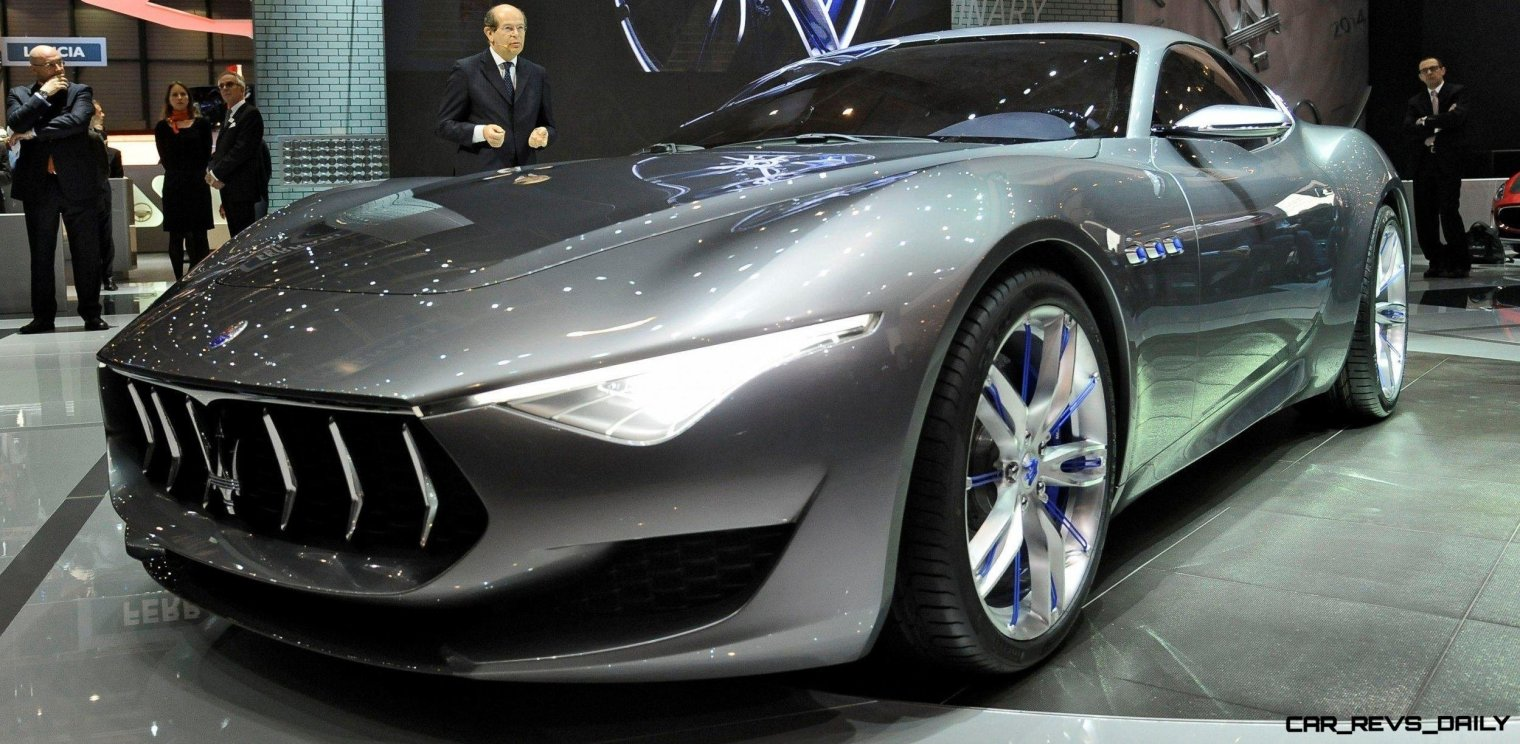 Alfieri Maserati Concept -- Analytical Assessment of the Trident's Flagship Prototype -- 52 Photos, Sketches, Reveal Images 6